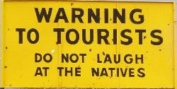 stinker warning to tourists